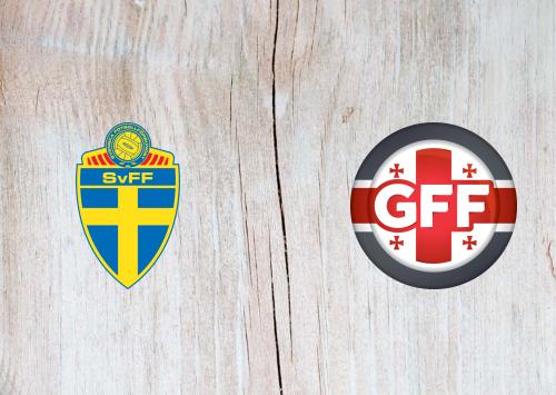 Sweden vs Georgia -Highlights 25 March 2021