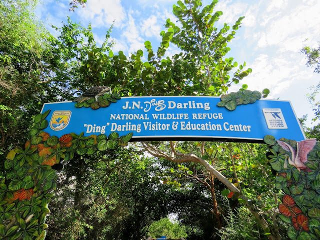 "J.N. ""Ding"" Darling National Wildlife Refuge sign"