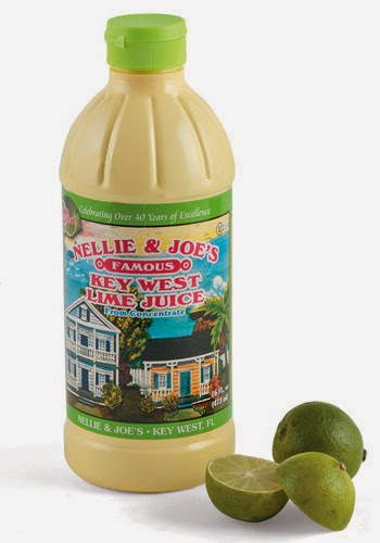 Nellie and Joe's key lime juice and some key limes