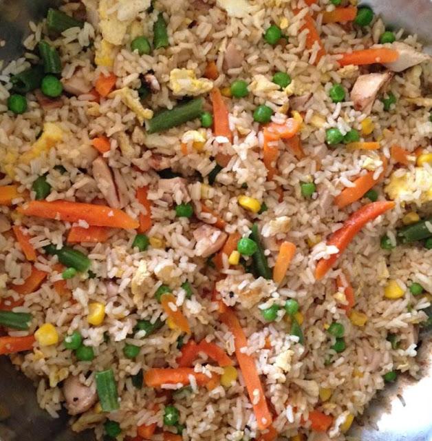 وصفة أرز هيباشي المقلي / Fried Hibashi Rice Recipe
