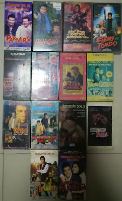 Different Collections: VHS TAPE COLLECTION - FERNANDO POE JR. (FPJ) MOVIES