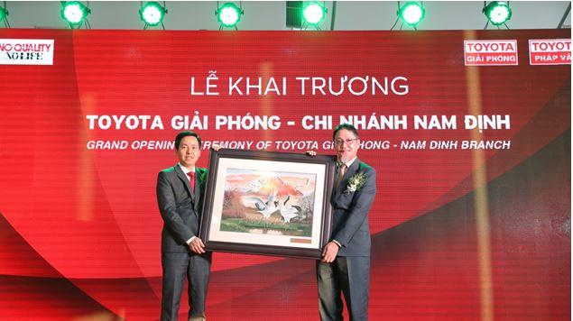 Cảm ơn buổi khai trương Toyota Nam Định