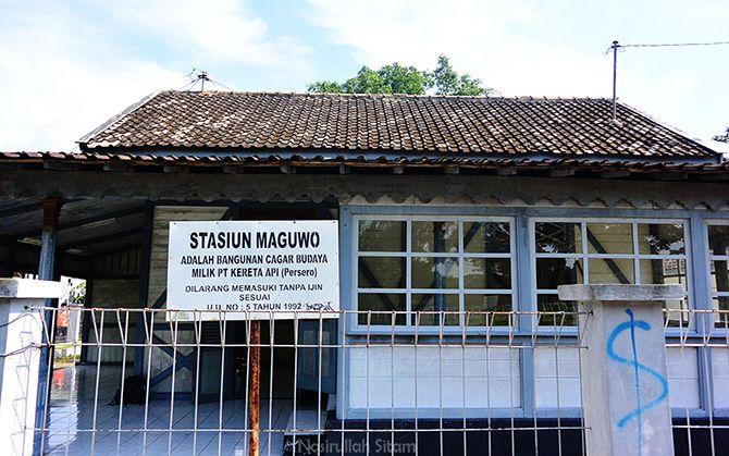 Stasiun Lama Maguwo menjadi Cagar Budaya