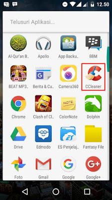 Cara Menghapus File Cache/Sampah Di HP Android Terbaru