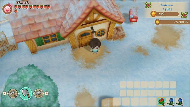 invierno - Story of Seasons: Friends of Mineral Town