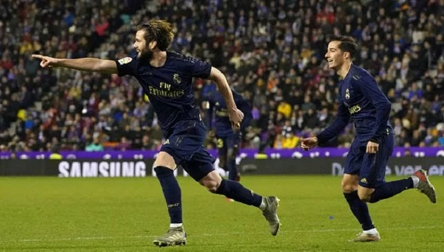 Real Madrid beat Valladolid and snatch the top spot in la Liga