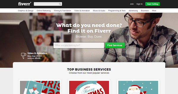 Micro-Work on Fiverr