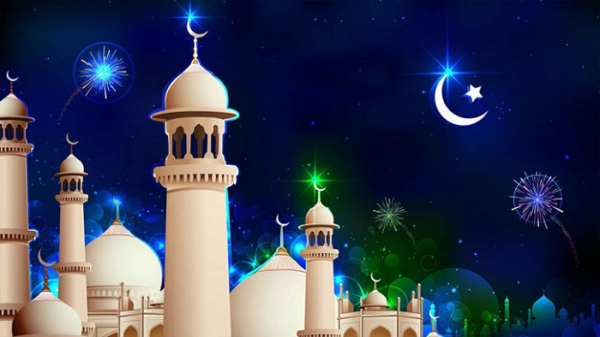 Holy Eid al-Fitr celebrations in Saudi Arabia on Thursday