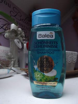 Tajomstvo krásy šampón na suché vlasy Balea