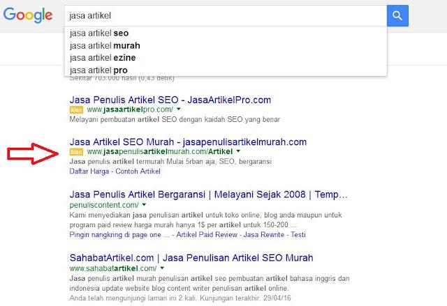 7 Cara Memilih Domain Yang SEO Di Mesin Pencari Google