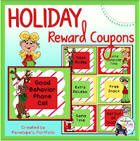 Holiday Reward Coupons