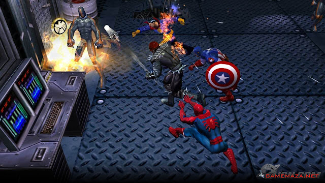 Marvel Ultimate Alliance 1 Gameplay Screenshot 3