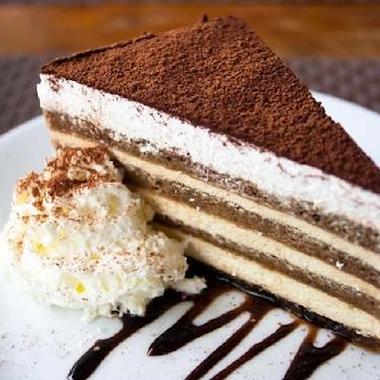 Sponge Cake With Curd Cream