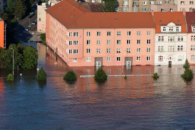 aumento del livello dell'acqua