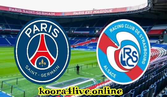 موعد مباراة باريس سان جيرمان و مستضيفه ستراسبورغ - الدوري الفرنسي