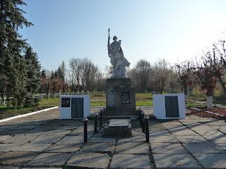 Яблуновка, Константиновкий р-н, Донецкая обл. Воинский мемориал
