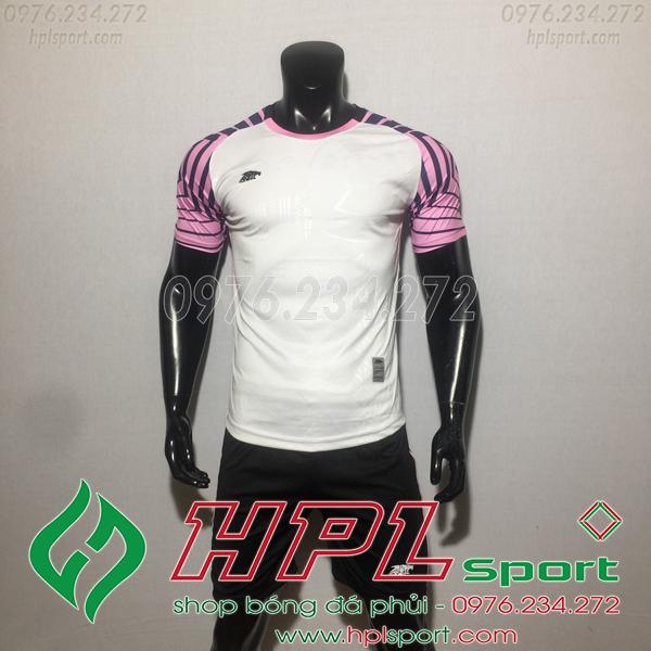 Áo bóng đá ko logo Eureka HAT VC  Màu Trắng