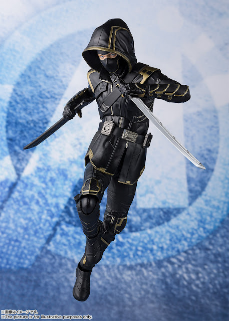 Figuras: Imágenes y detalles de los nuevos S.H.Figuarts Ronin de Avengers: Endgame - Tamashii Nations