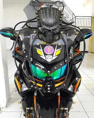 Modifikasi Yamaha Nmax aliran Alien.