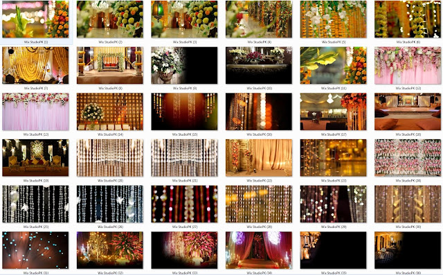 Beautiful Wedding Album Backgrounds HD1290 X 1080  50 PICS  Pack 01