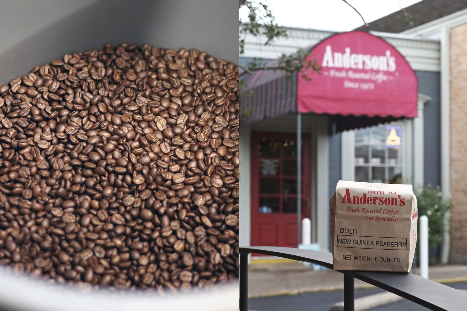 Anderson's Coffee Austin, Iced Coffee, Cozy Coffee Shop, Coffee Shops Vibe