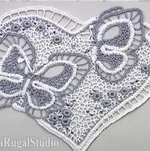 Encaje Mariposa a Crochet