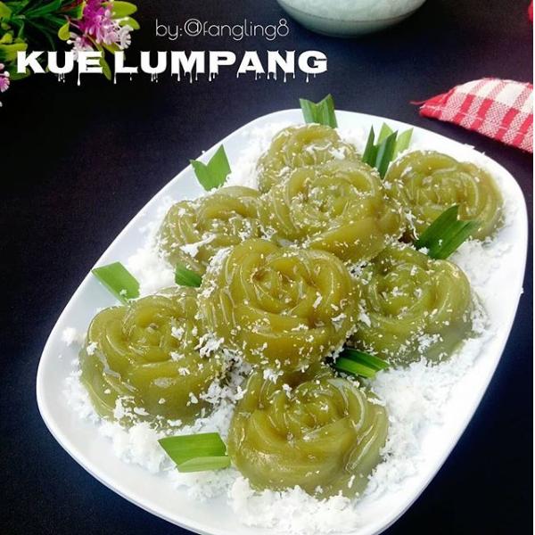 Resep Jajanan Pasar KUE IJO / KUE LUMPANG