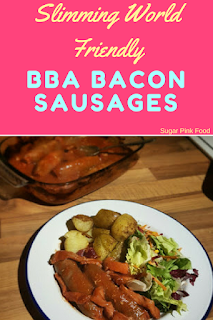 Slimming world BBQ bacon sausages recipe