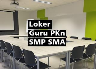 Loker Guru PKn SMP SMA Kesatuan Banggsa Bilingual Boarding School