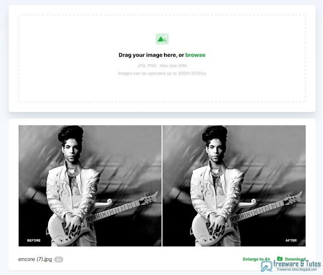 Smart Upscaler : un outil web pour agrandir les images sans perte de qualité