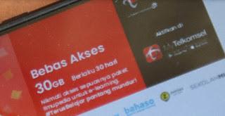 Cara Mendapatkan Kuota Telkomsel 30GB Gratis