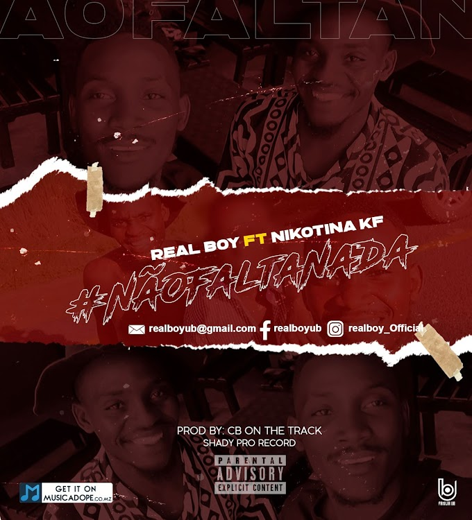 Real Boy - Não Falta Nada (feat. Nikotina KF) [Exclusivo 2021] (Download MP3)