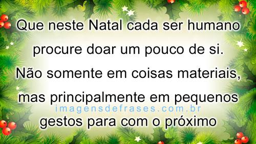 lindas frases de Natal