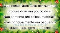 Mensagem de Natal. Frases de Papai Noel