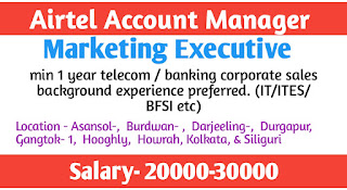 Airtel Account Manager