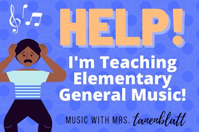 Help! I'm teaching general music by Music With Mrs. Tanenblatt