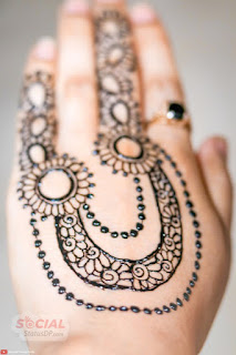 Hand Simple Mehndi Design
