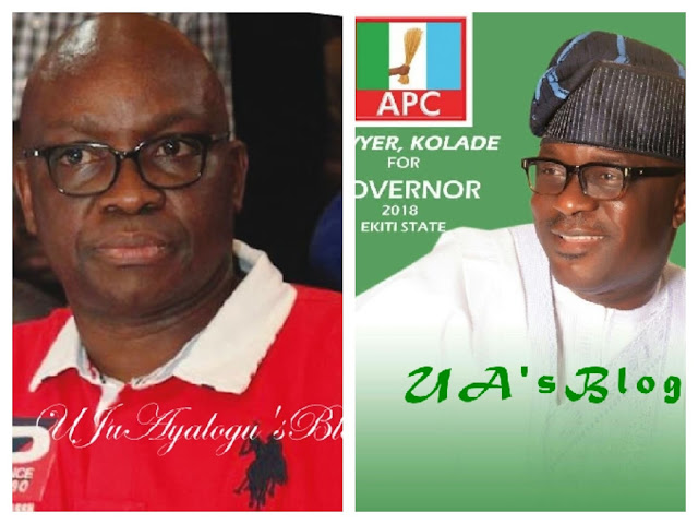 Why Fayose is the most wasteful governor in Ekiti history – Victor Kolade