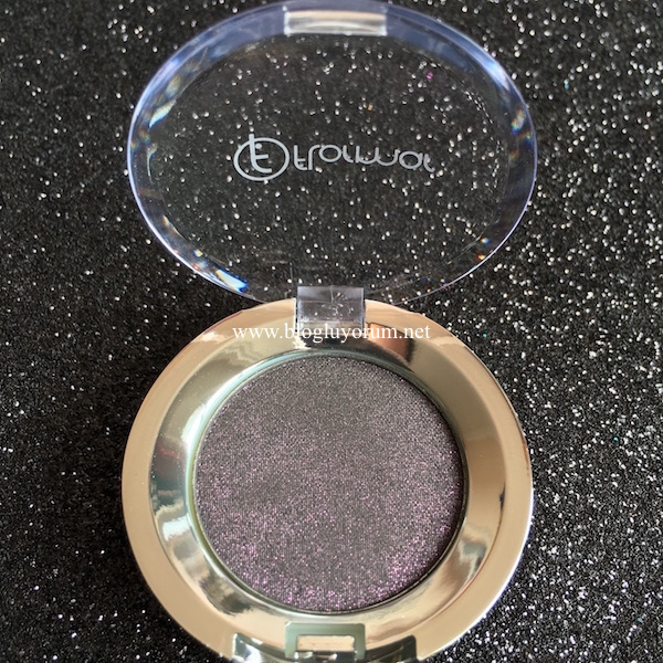 flormar party eye shadow glittery plum