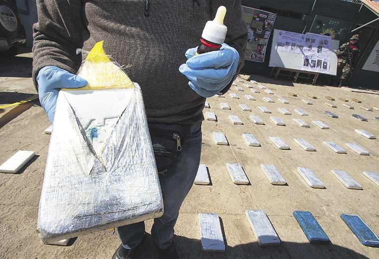 Paquetes de cocaína llevan marcas para determinar su origen y