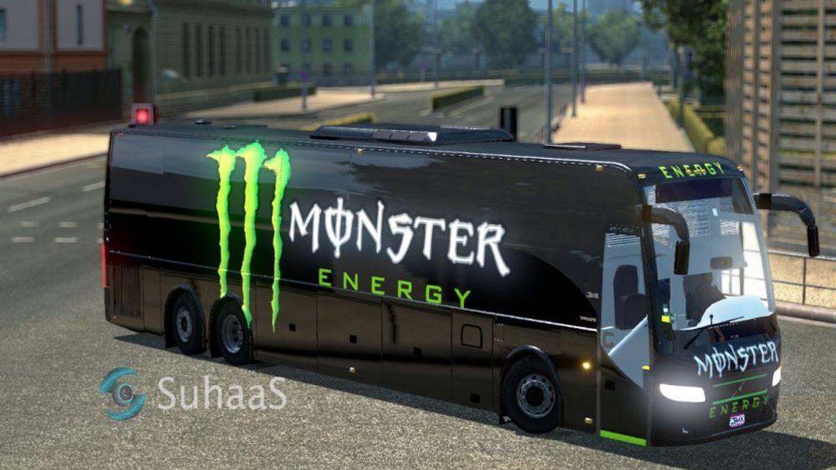 Monster Skin for Volvo Bus
