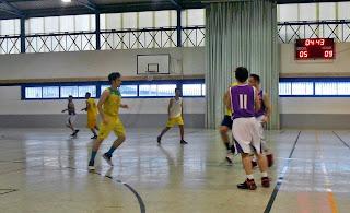 Puente de baloncesto en la Liga Provincial Masculina y en la Copa FAB Jaén