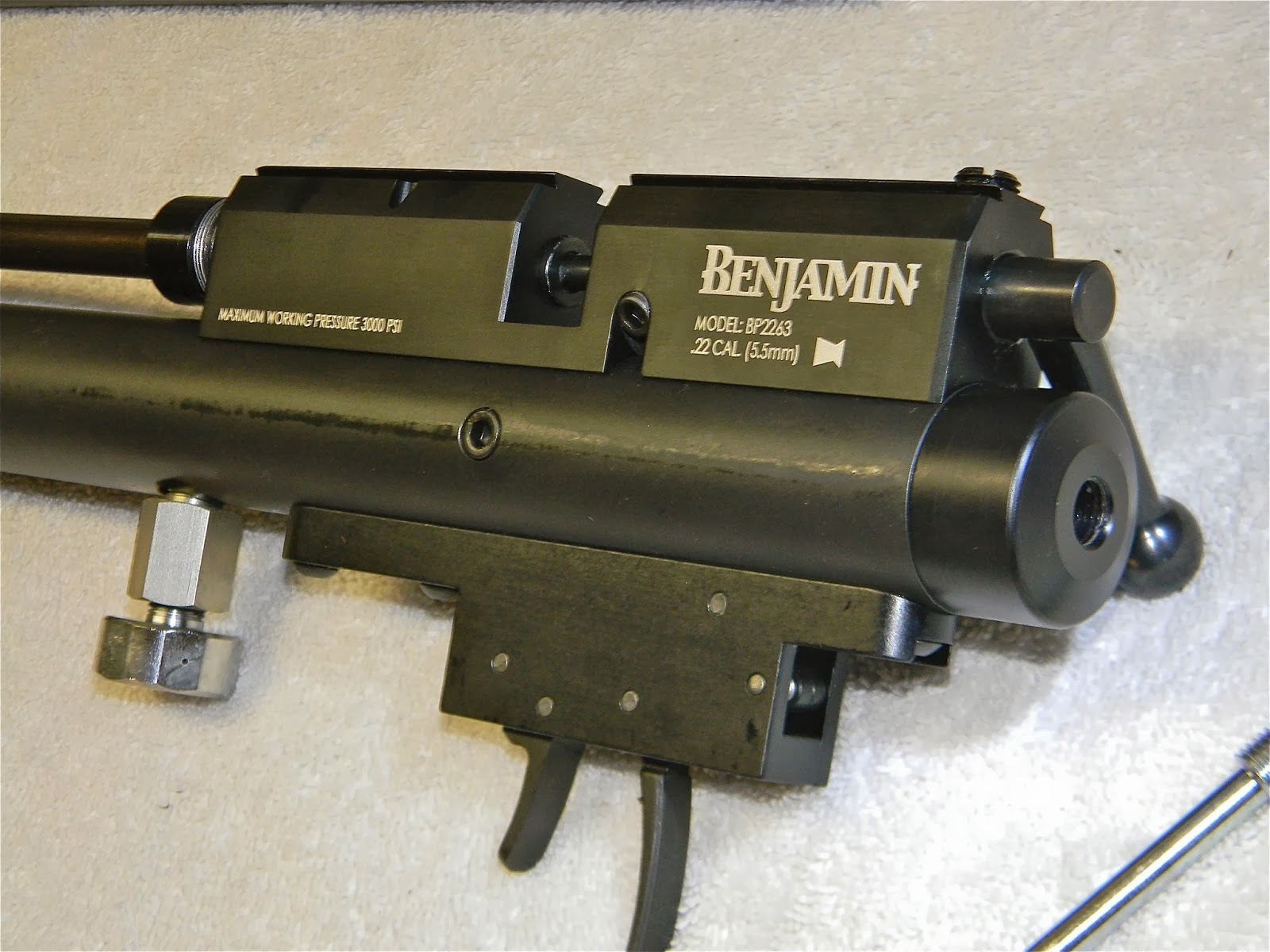 Another Airgun Blog: Benjamin Marauder Tear Down