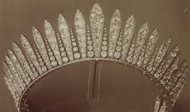 Empress Eugenie France Fringe Tiara Bapst