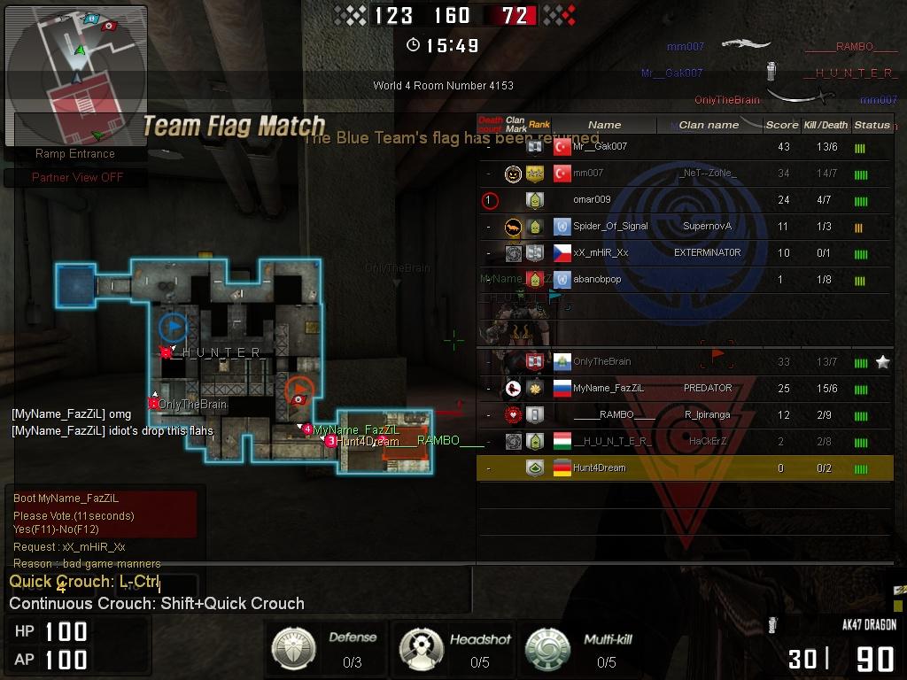 Weapons hack blackshot rank