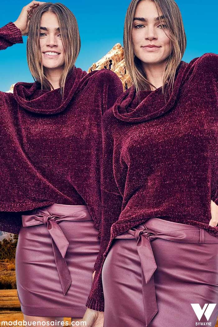minifaldas de moda invierno 2021