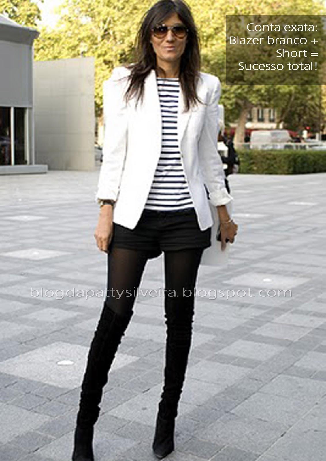 d5f1857bd Look blazer branco feminino Pesquisa Google officE wEar