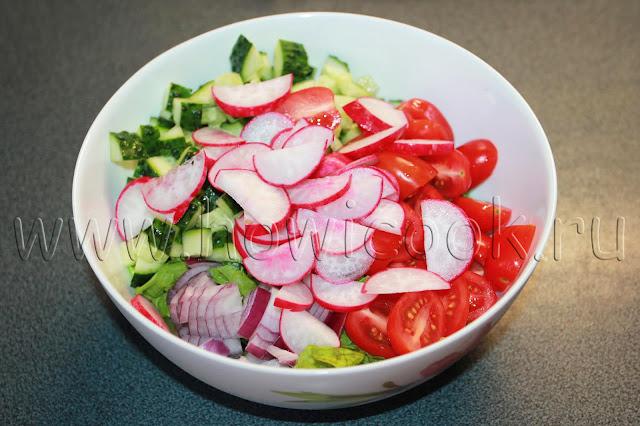 рецепт салата фатуш с пошаговыми фото