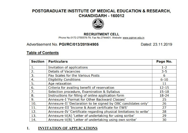 AIIMS Recruitment Official Pdf Notification