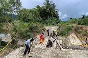 Jembatan Darurat Penghubung Aceh Timur Dengan Gayo Lues Telah Dibangun